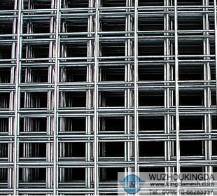 Steel wire mesh panels