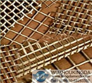 Electro galvanized crimped wire mesh
